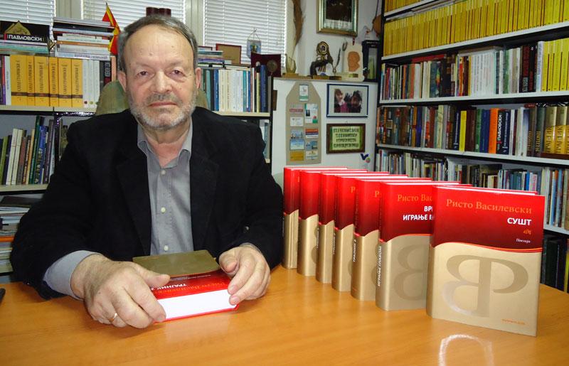 """Признание од Италија: """"Франческо Петрарка"""" за поетот и академик Ристо Василевски"""