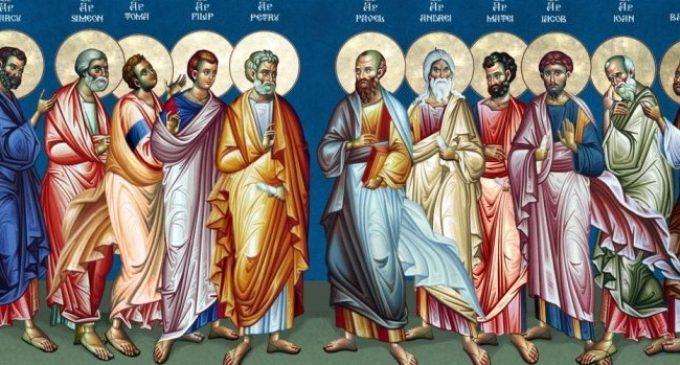 ДЕНЕСКА Е СОБОР НА 12 АПОСТОЛИ: Честито име Павле и Павлина, за многу години Павловден