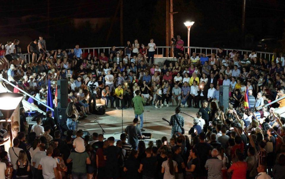 Илинденска прослава во Илинден: Некст тајм ја дигна публиката на нозе