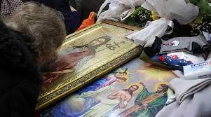 Свети Јоан се молит пред Богу: Прости ми, убив двајца за на еден очи да отворам