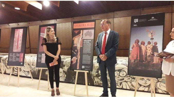 Изложба во Битола: Абориџинска култура на Широк Сокак