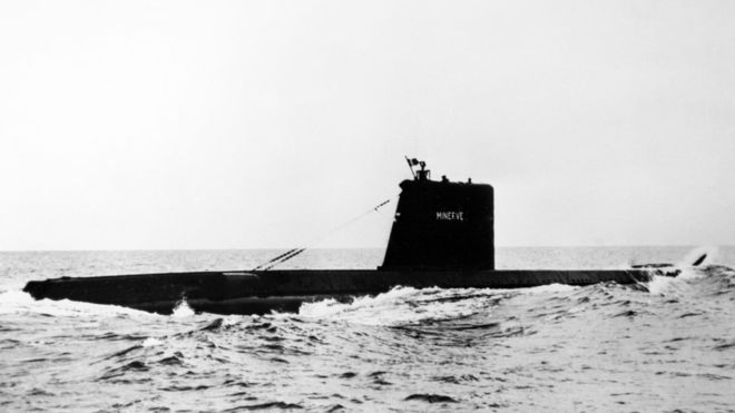"""Пронајдена француската """"Минерва"""" која исчезна во 1968-та со 52 члена на екипажот"""