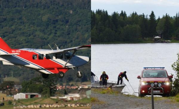 АВИОНСКА НЕСРЕЌА ВО ШВЕДСКА: Загинаа 9 падобранци при пад на мал авион
