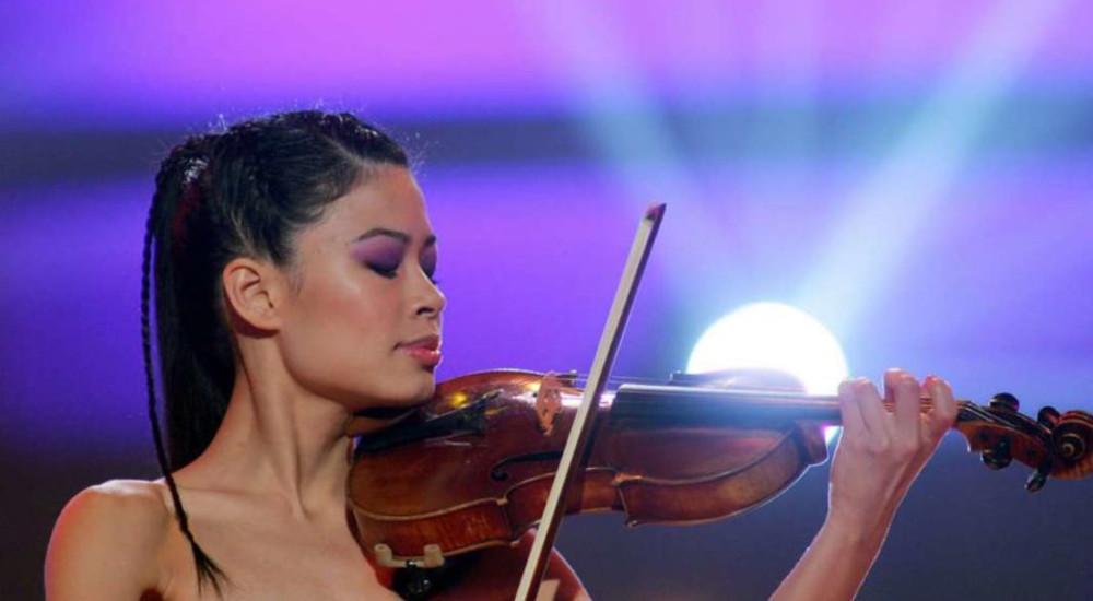 ВЕЧЕРВА ВО АНТИЧКИОТ ТЕАТАР ВО ОХРИД: Ванеса Меј го отвора 59. Охридско лето
