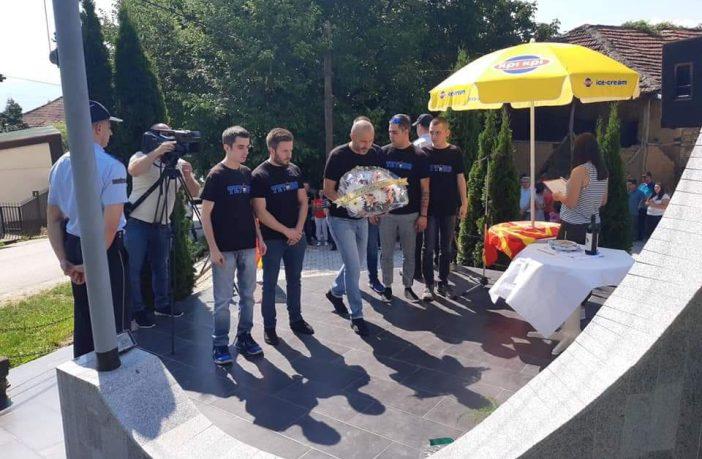 Чествување на Ѓоко Лазарески, бранителот на Лешочкиот манастир: Вечна ти слава хероју