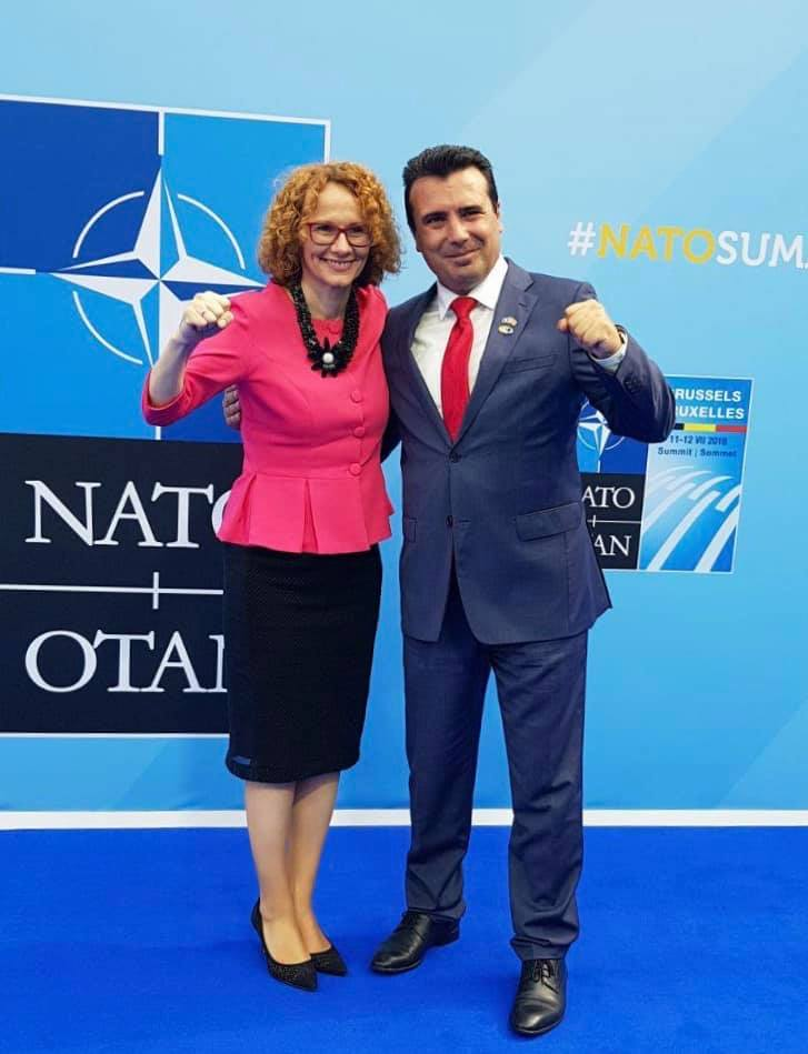 (фото) ШЕЌЕРИНСКА И ЗАЕВ: Двете ударни тупаници на Македонија во НАТО