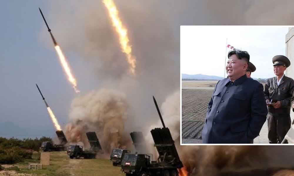 Северна Кореја: Ким го надгледуваше тестирањето на новото оружје