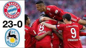 Фудбалско изживување: Баерн победи аматерски тим со 23:0!