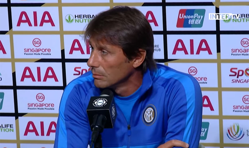 Интер: Конте трет тренер кој стартувал со разлика од четири гола