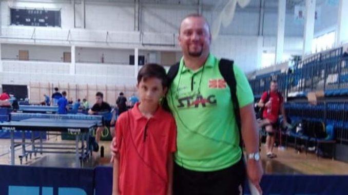 Пинг-понг: 9-то место за Лука Стојчев во Унгарија