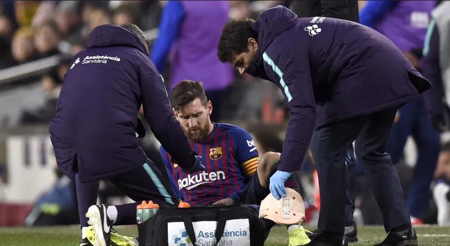Барселона: Меси на боледување и на следниот натпревар