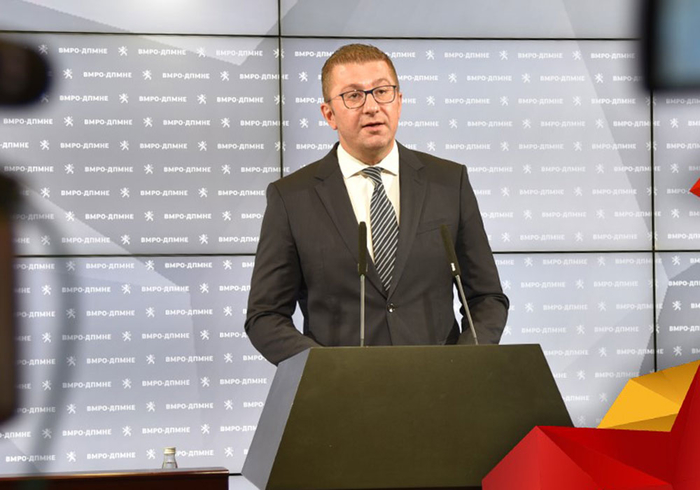 МИЦКОСКИ: Заев бега од предлогот за Резолуција во Собранието за македонскиот јазик