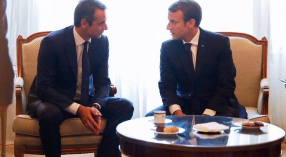 Макрон – Мицотакис: Пријателството на Франција и Грција е важно за Европа и иднината на сите