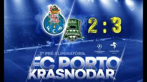Лисабон: Поразот од Краснодар Порто го чини 44 милиони евра