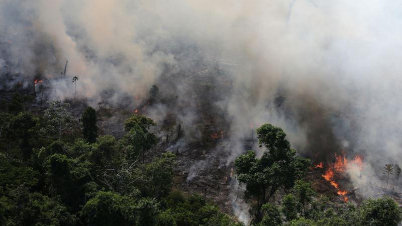 Бразил: Армијата тргнува во битка со пожарите во Амазонија