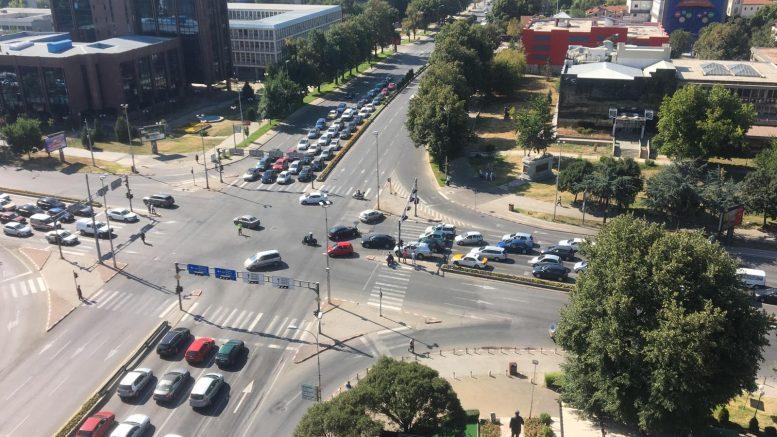 Скопско деноноќие: 10 лица повредени во 12 сообраќајки