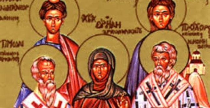 КАЛЕНДАР НА МПЦ: Денеска е Св. апостоли Прохор, Никанор, Тимон и Пармен