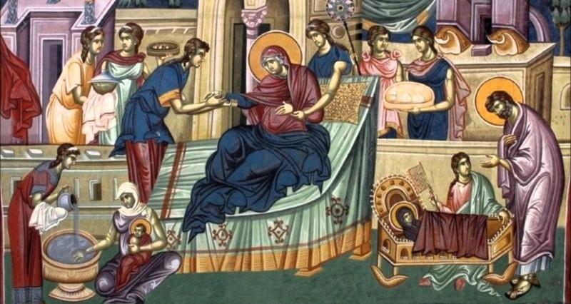 КАЛЕНДАР НА МПЦ: Денеска е Раѓање на Пресвета Богородица
