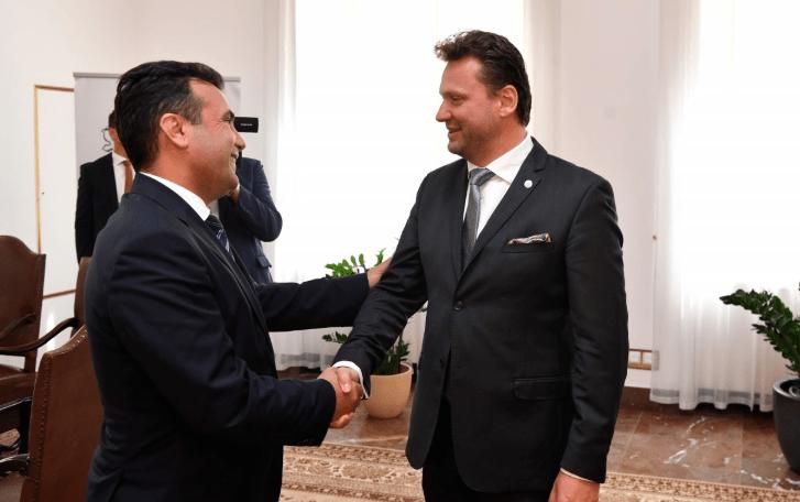 ЗАЕВ ВО ЧЕШКА: Датум за С. Македонија од ЕУ во октомври позитивно ќе влијание на цел Западен Балкан