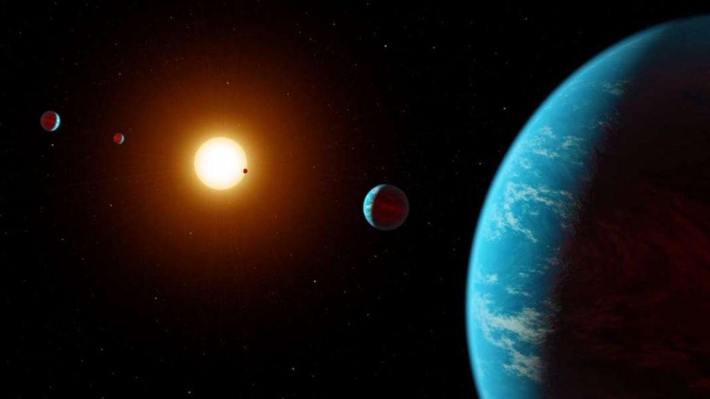 """НАСА: Првпат пронајдена вода на населива планета оддалечена """"само"""" 111 светлосни години од Земјата"""