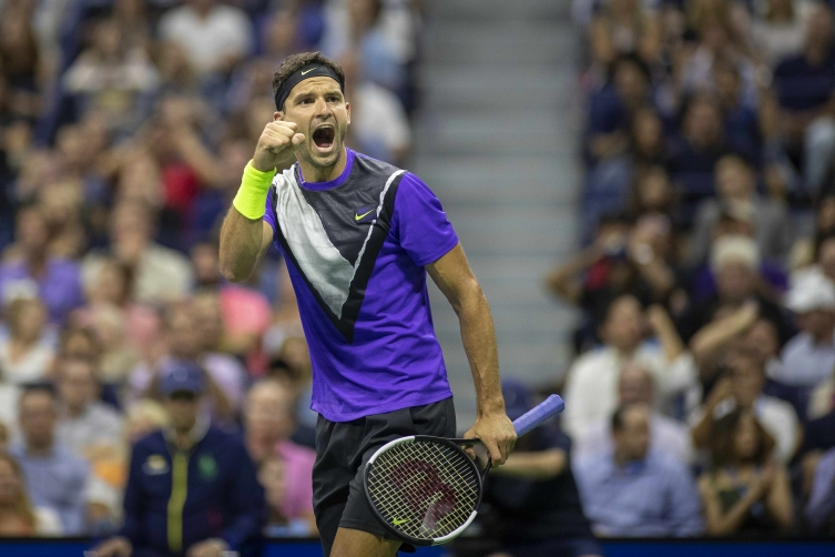 УС опен: Димитров му се испречи на Федерер во четвртфиналето