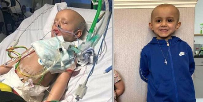 Петгодишното момче Фреди го победи ракот кој му се прошири низ целото тело