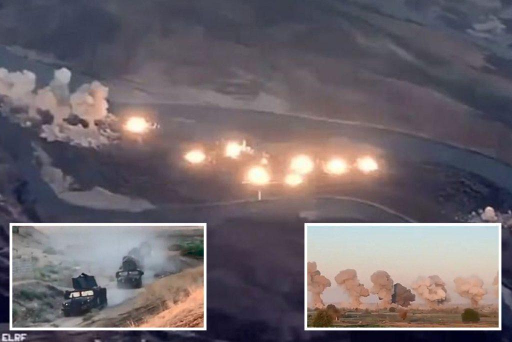 Ирак: Авиони на САД фрлија 40 тони експлозиви врз позиции на ИД