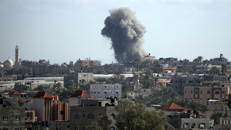 Израел погодил две позиции на Хамас како договор на денешниот ракетен напад од Газа!