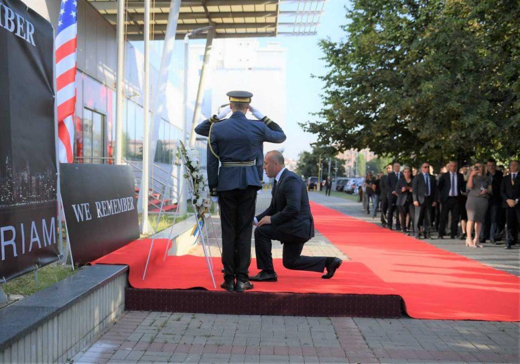 Косово: Во Приштина откриена спомен-плоча за жртвите на 11 септември во САД