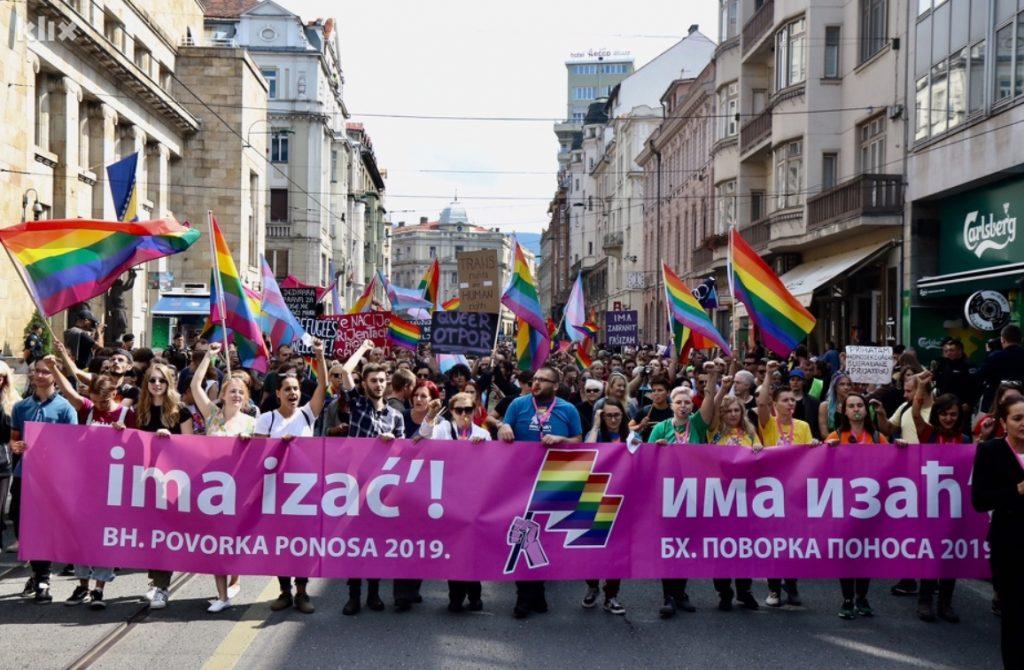 Сараево: Првата Парада на гордоста мина без инциденти