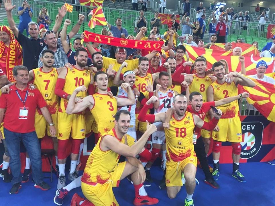 ЕП ОДБОЈКА: Голема победа на Македонија над фаворитот Словенија