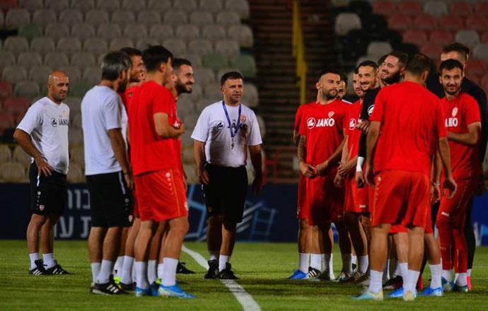 ЕП 2020: Македонската репрезентација вечерва против Израел