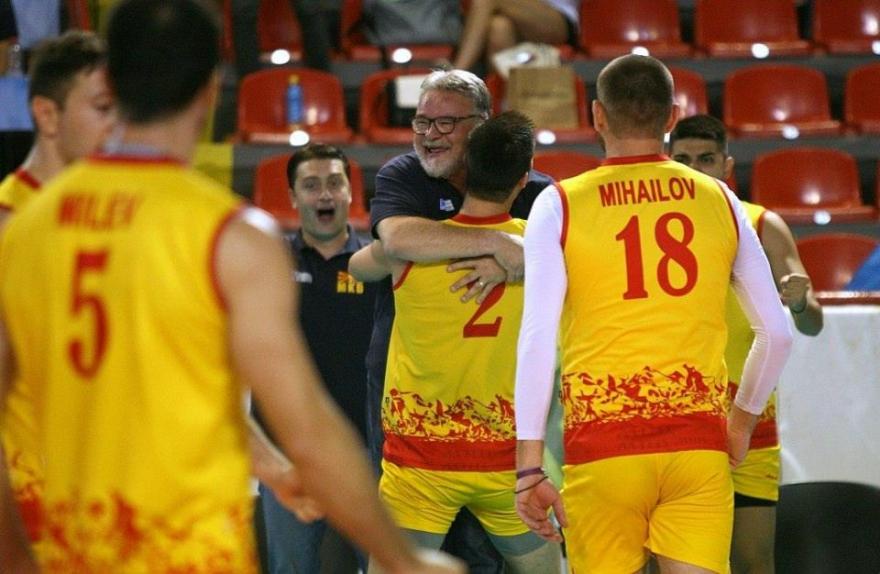 ЕП во одбојка: Македонија вечерва против Словенија
