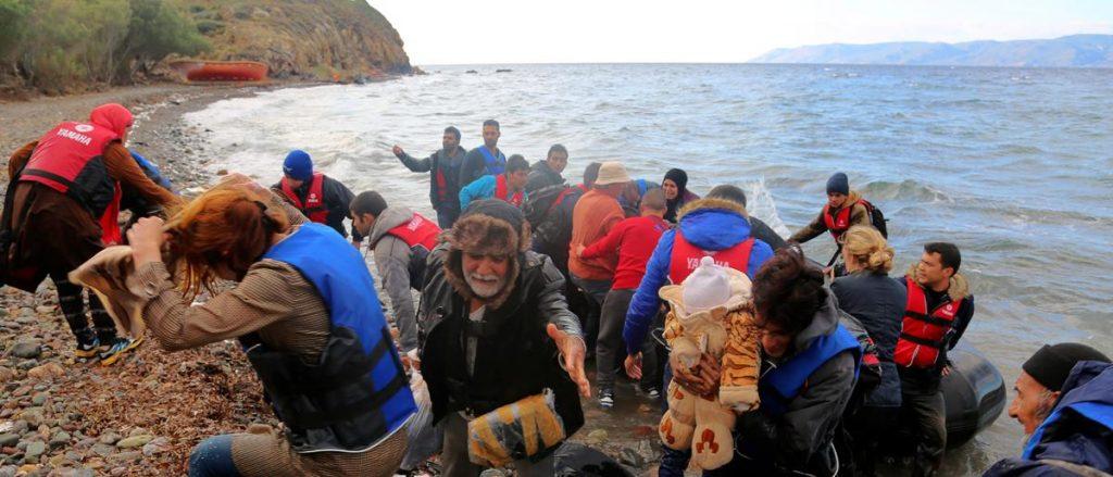 На Лезбос веќе не сакаат да примаат мигранти