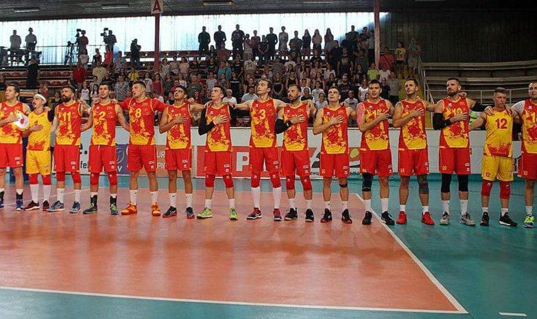 ЕП во одбојка: Македонија дебитира во Љубљана