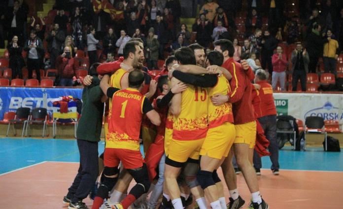 ЕП ВО ОДБОЈКА: Прва победа на Македонија, совладана Белорусија