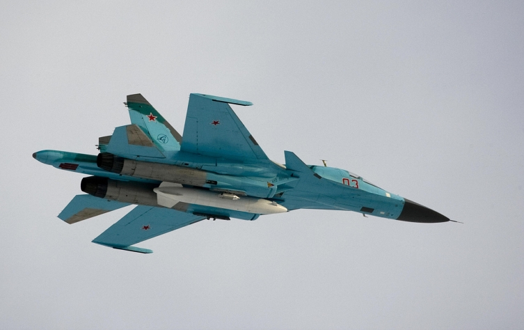 Русија: Се судрија два воени авиони Су-34