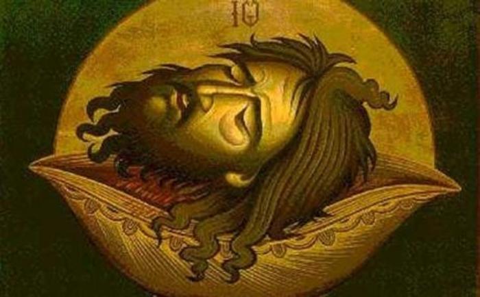 КАЛЕНДАР НА МПЦ: Денеска е Отсекување на главата на Св. Јован Крстител