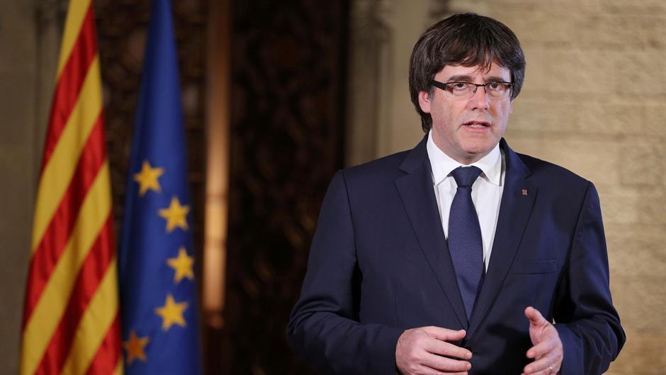 ЕУ: Пуџдемон им се предаде на белгиските власти, но одбива да биде екстрадиран во Шпанија