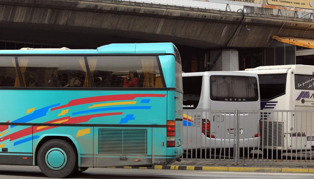 Контрола во Штип: Од 64 автобуси за јавен превоз 9 неисправни