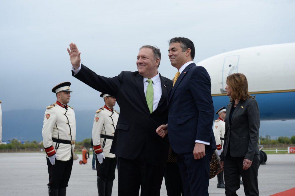 ДИМИТРОВ: Посетата на Помпео е потврда за значењето што САД го придаваат на нашиот успех