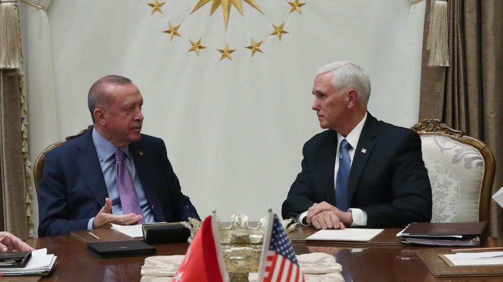 СЕПАК СРЕДБА: Ердоган се сретна со Пенс, но нема да ја прекине офанзивата