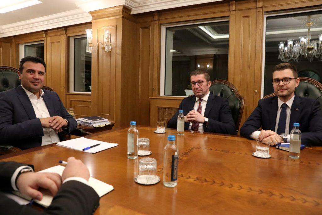 ЛИДЕРСКА СРЕДБА: Попладне во Вила Водно одлука за предвремени парламентарни избори