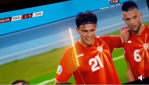ПОБЕДА: Македонија – Словенија 2:1, Елмас двоен стрелец, Словенците ни дадоа гол во 95 минута