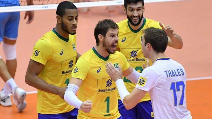 Светски куп во одбојка: Шест од шест за Бразил