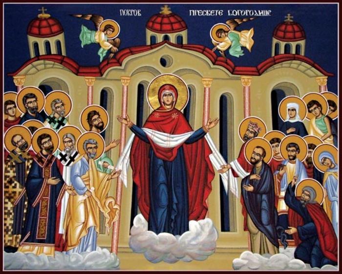КАЛЕНДАР НА МПЦ: Денеска се слави Покров на Пресвета Богородица