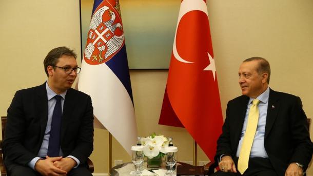 Вучиќ му одговори на Ердоган дека ќе се бори ако дојде до лобирање за признавање на Косово