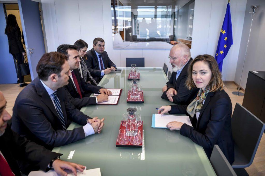 ЗАЕВ ОПТИМИСТ ДО КРАЈ: Датум од ЕУ е логичен одговор за тоа што испорача С. Македонија