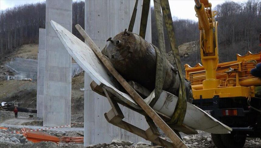 Црна Гора: Бомба од еден тон од Втората светска војна откриена при градба на автопат
