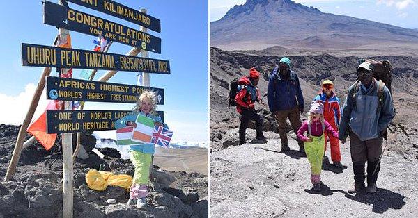Шестгодишно девојче од Велика Британија го освои Килиманџаро